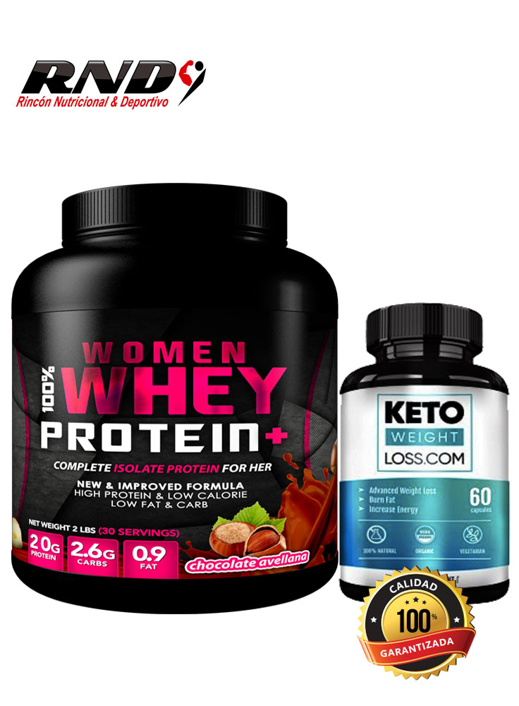 WHEY WOMAN + KETO (30 SERV)