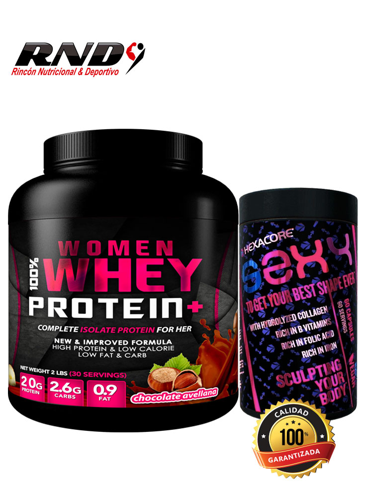 PACK WOMAN WHEY + SEXY (30 SERV)