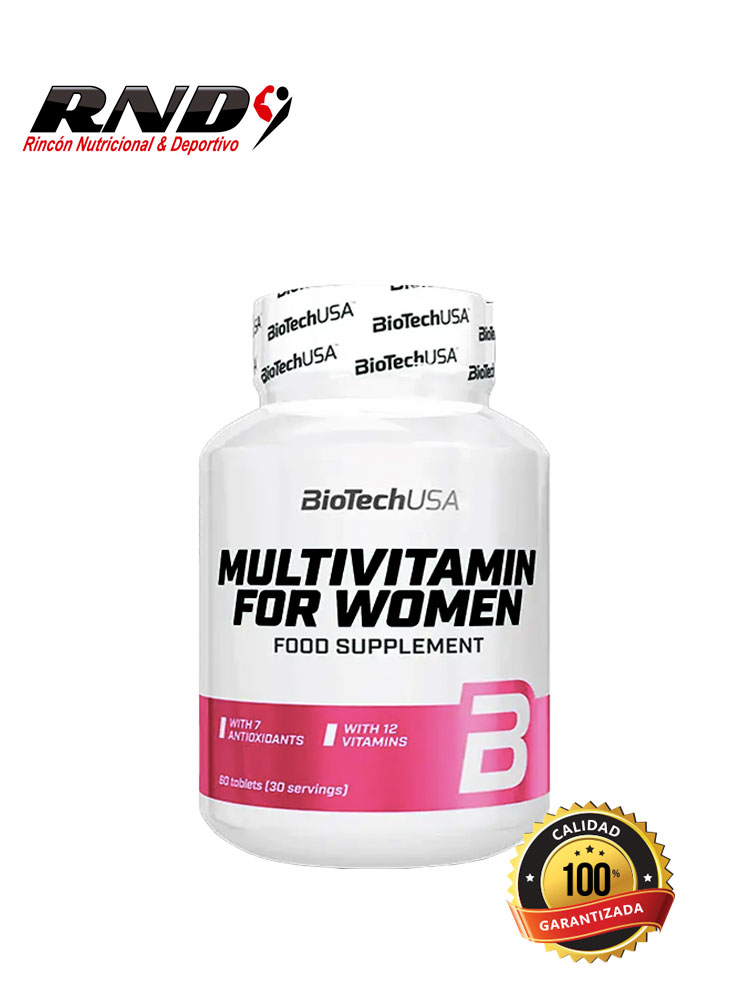 MULTIVITAMIN FOR WOMAN (30 SERV)