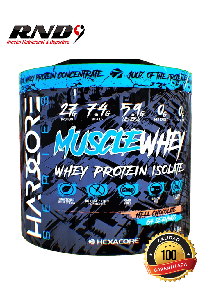 MUSCLE WHEY (64 SERV)