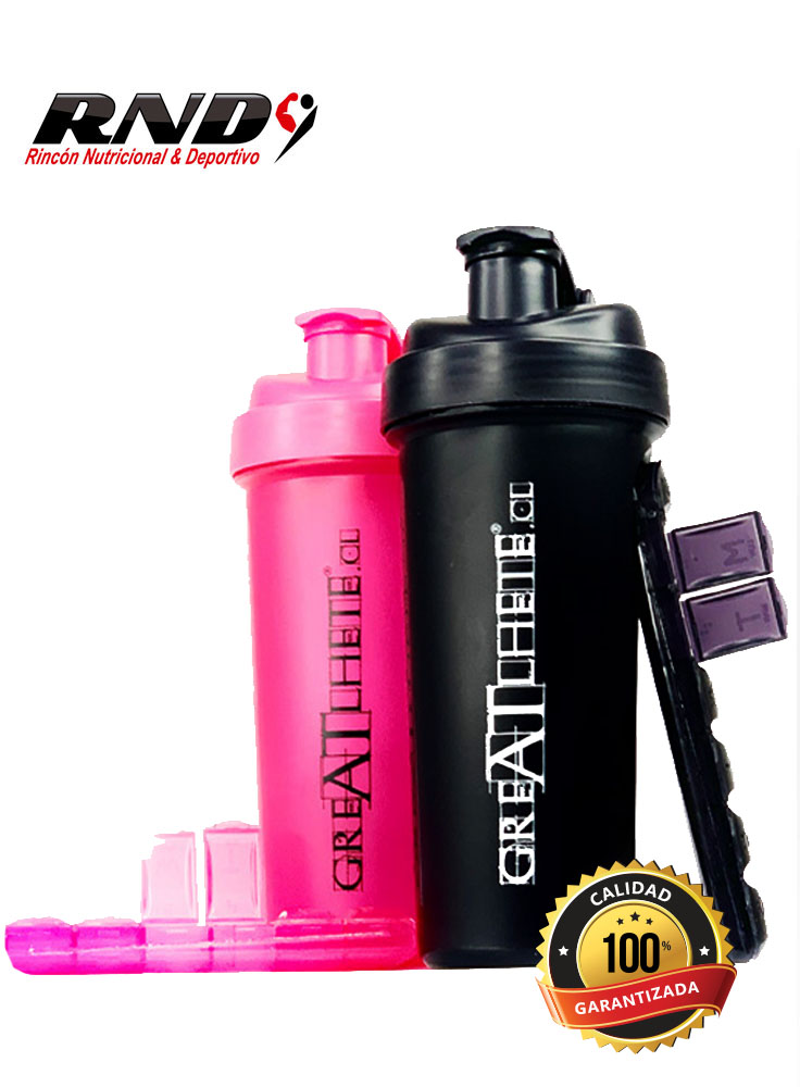 SHAKER GREATHLETE PASTILLERO (700 ML)